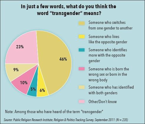 A Boy In The Girls Bathroom Pie Chart Illustration